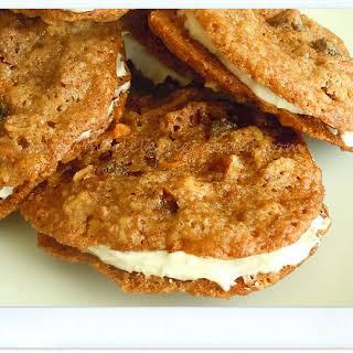 Cream Cheese Carrot Cookies.