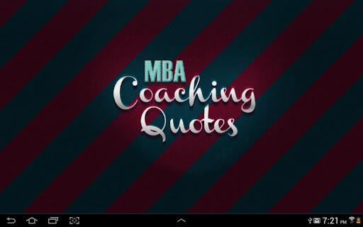 【免費商業App】MBA Coaching Quotes-APP點子