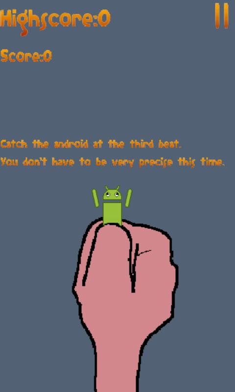 Catch The Android!- screenshot