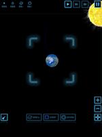 Screenshot of Planet simulation