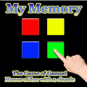 Simon says memory game logo