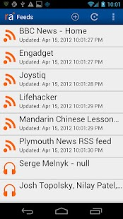 RSS Alarm Lite- screenshot thumbnail