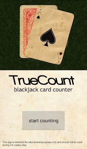 TrueCount - Blackjack Counter