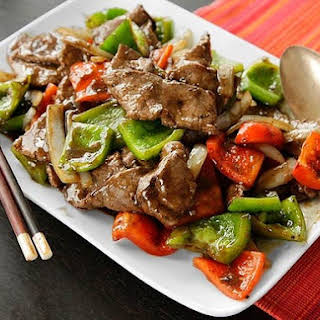 Chicken Steak In Pepper Sauce Recipes.