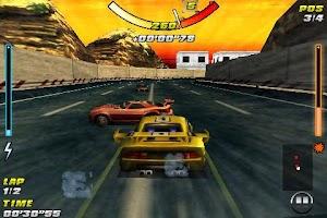 Screenshot of Raging Thunder - FREE