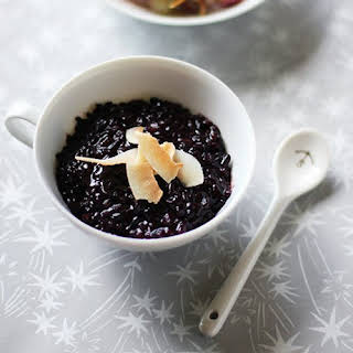 Coconut Black Rice Pudding.