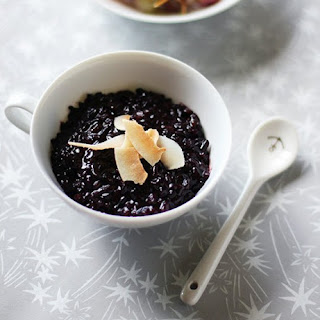 Coconut Black Rice Pudding.