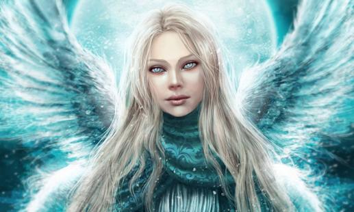 天使3D壁紙