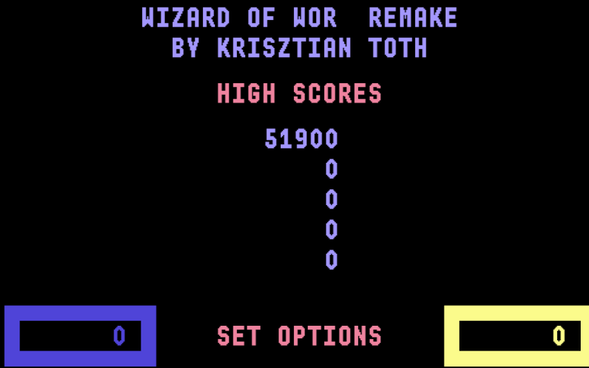 Wizard Of Wor by Krisztián Tóth | Experiments with Google