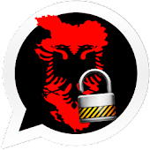 Albania Flag Lock Whats Chat