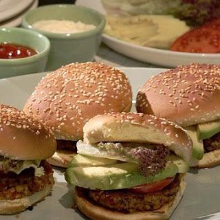 Black-Bean Burger.