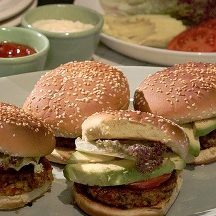 Black-Bean Burger Recipe