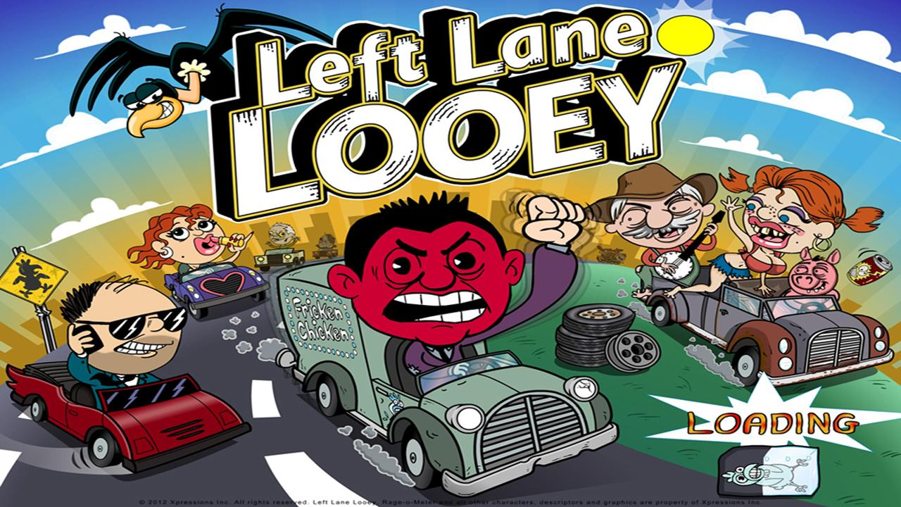 Left Lane Looey Road Rage Race- screenshot