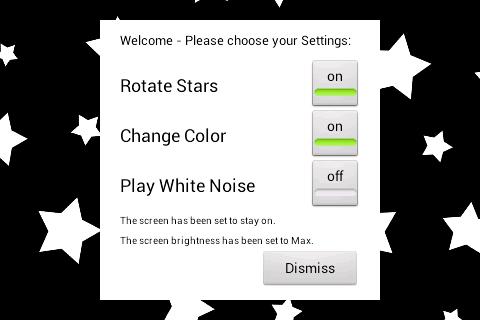 玩免費健康APP|下載Baby Night Light Stars app不用錢|硬是要APP