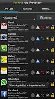 Screenshot of Perfect App Lock Pro