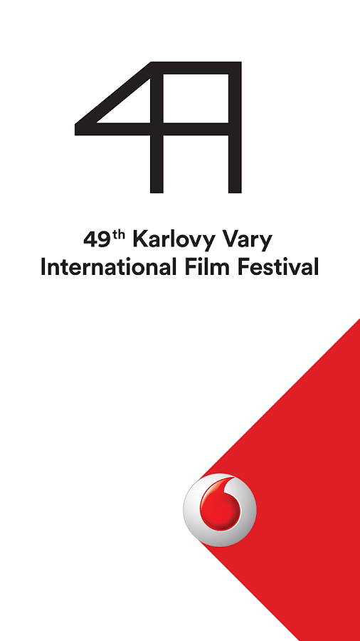 Vodafone KVIFF Guide 2014 - screenshot