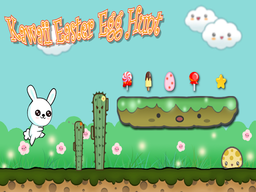Kawaii Bunny - Easter Egg Hunt