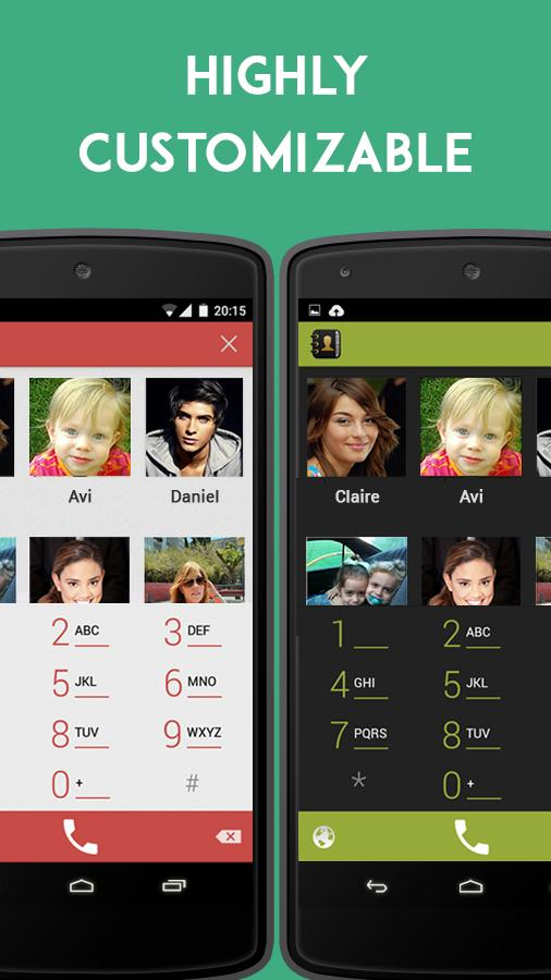 Contacts Dialer- screenshot