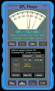 SPL Meter- screenshot thumbnail