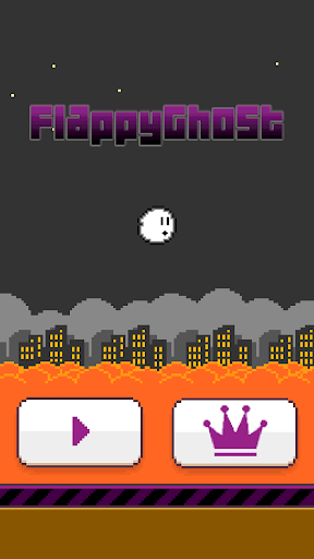 Halloween : Flappy Ghost Free