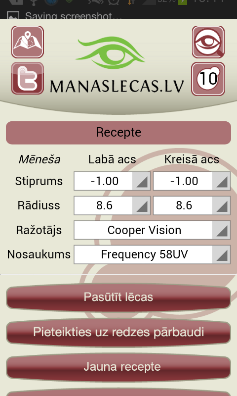 manaslecas.lv - screenshot
