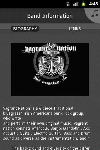 【免費音樂App】Vagrant Nation-APP點子