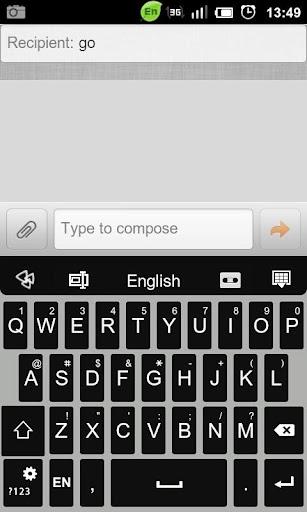 GO Keyboard Alpha Theme