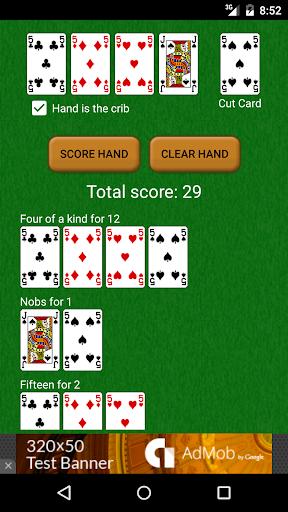 Cribbage Hand Scorer