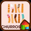 my love churros dodol theme icon