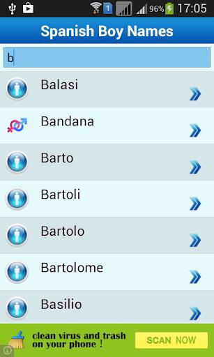 免費生活App|Spanish Baby Names & Meaning|阿達玩APP