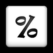 Percent Calculator + (AdFree) 1.4.4 Icon