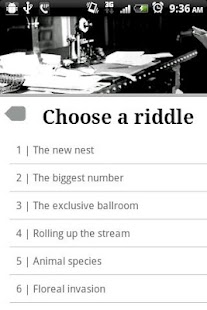 Elegant Riddles -Free & Full- screenshot thumbnail