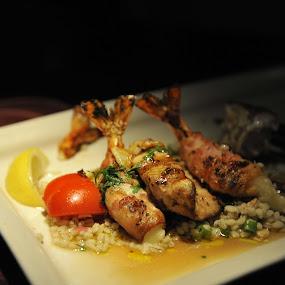 Cajun Shrimp by Larry Crawford - Food & Drink Plated Food ( cajun, seafood, shrimp, spicy )