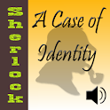 A Case of Identity. AudioEbook logo