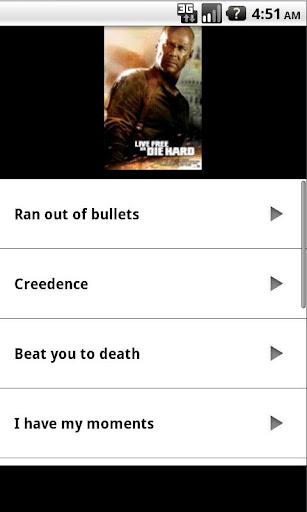 Bruce Willis Sounds