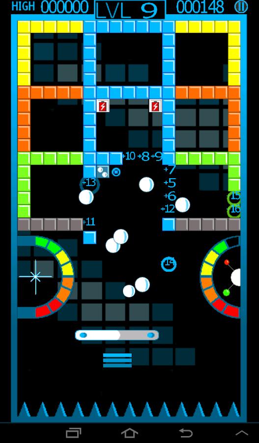 ChromaBurst Brick Breaker Free - screenshot