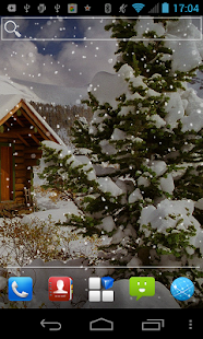 Scenes Snow Live Wallpaper - screenshot thumbnail