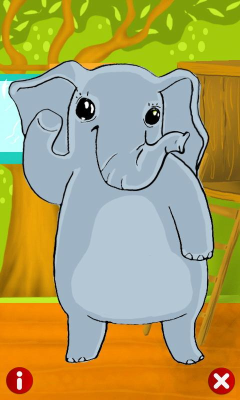 Talking Elly Elephant - screenshot