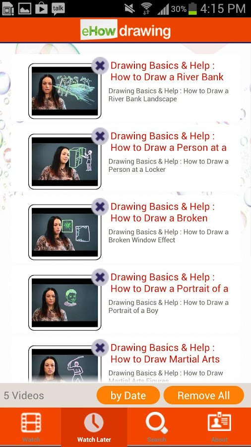 eHow Drawing - screenshot