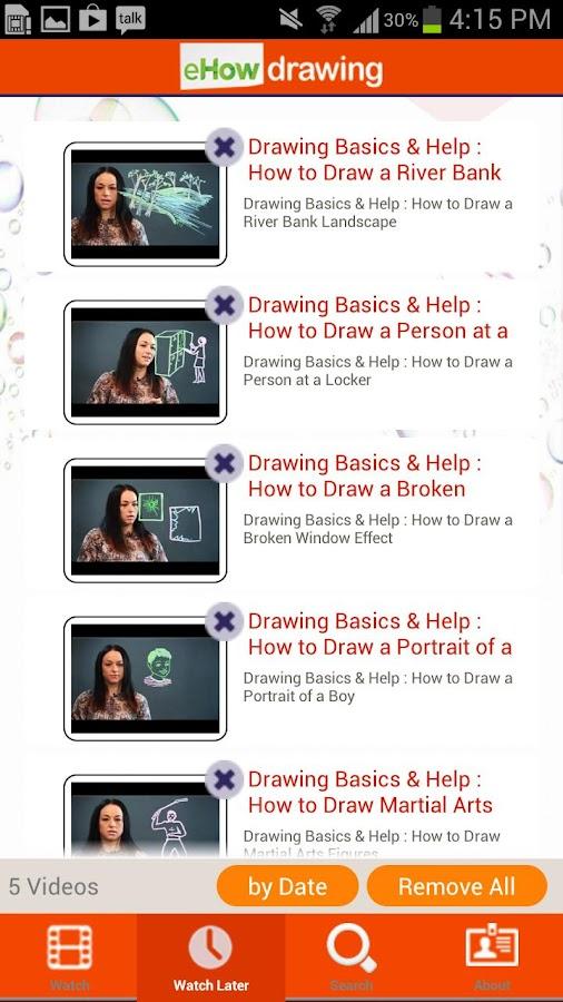 eHow Drawing - screenshot