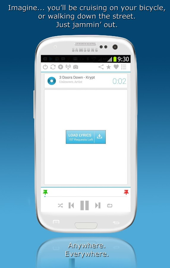 LyricalPro Music Lyrics Player- screenshot