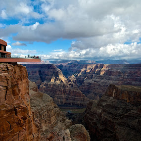 Overlook Grand Canyon by Robert Remacle - Buildings & Architecture Bridges & Suspended Structures (  )