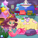 Mermaid Princess Tea Party icon