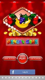 Fruit Memory Game