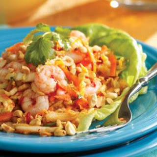 Chilled Maine Shrimp with Cabbage & Peanuts, Vietnamese-Style.