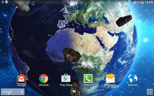 HD Space Live Wallpaper 1.0.8 screenshots 10