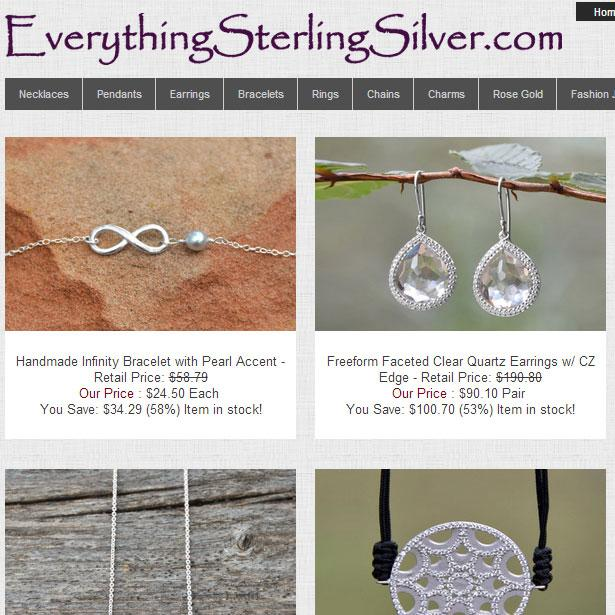Wholesale Sterling Silver- screenshot