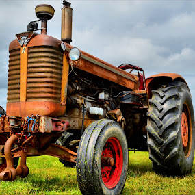 Big Tractor by Nic Scott - Transportation Other ( tractor,  )