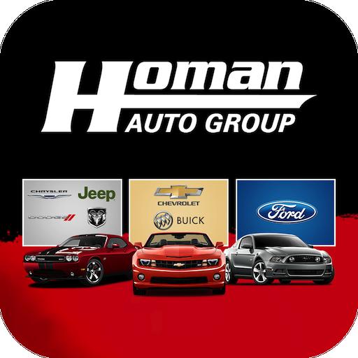 Homan Auto LOGO-APP點子