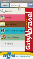 Screenshot of Guia Abrasel Pernambuco